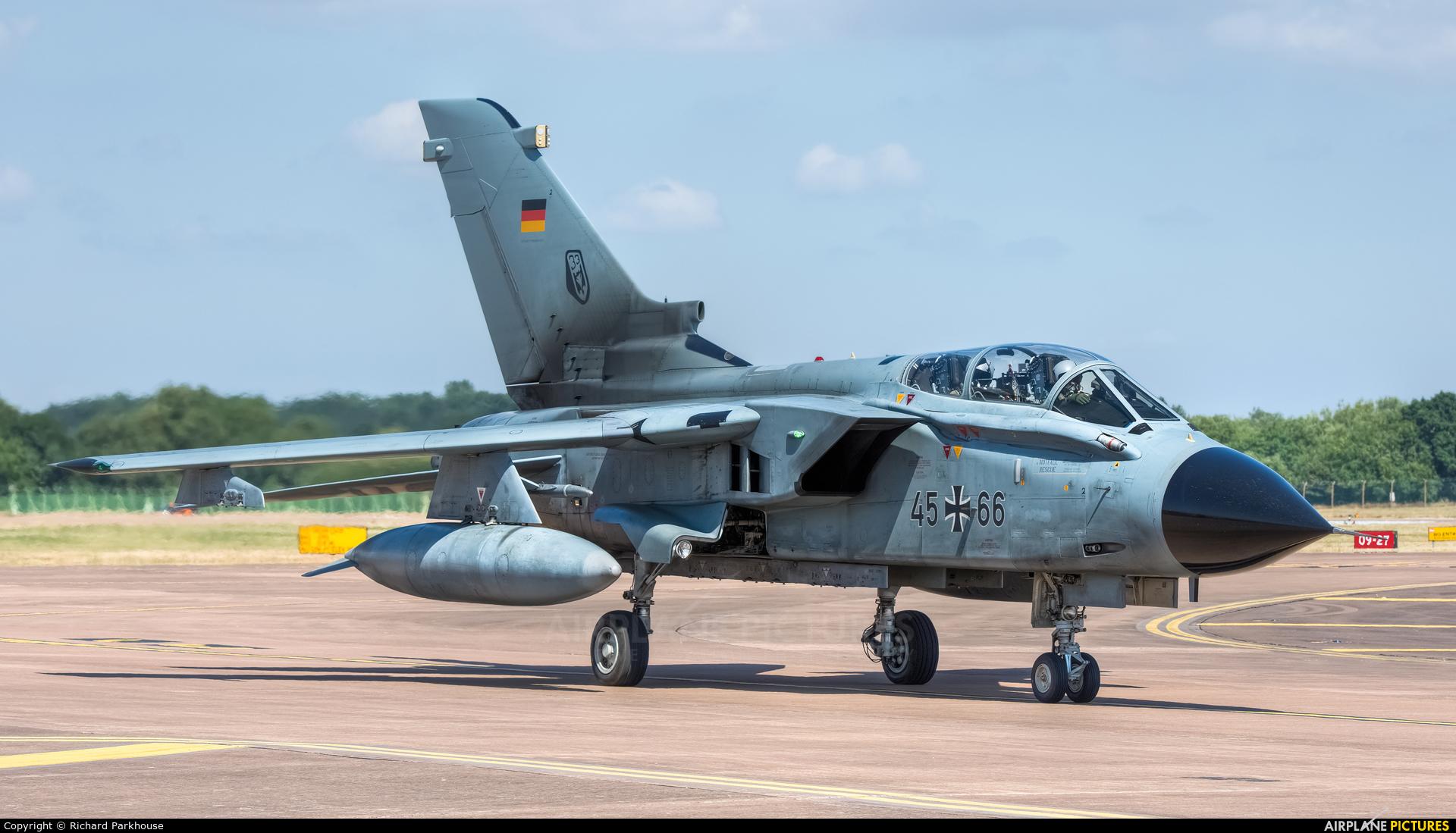 Germany - Air Force 45+66 aircraft at Fairford