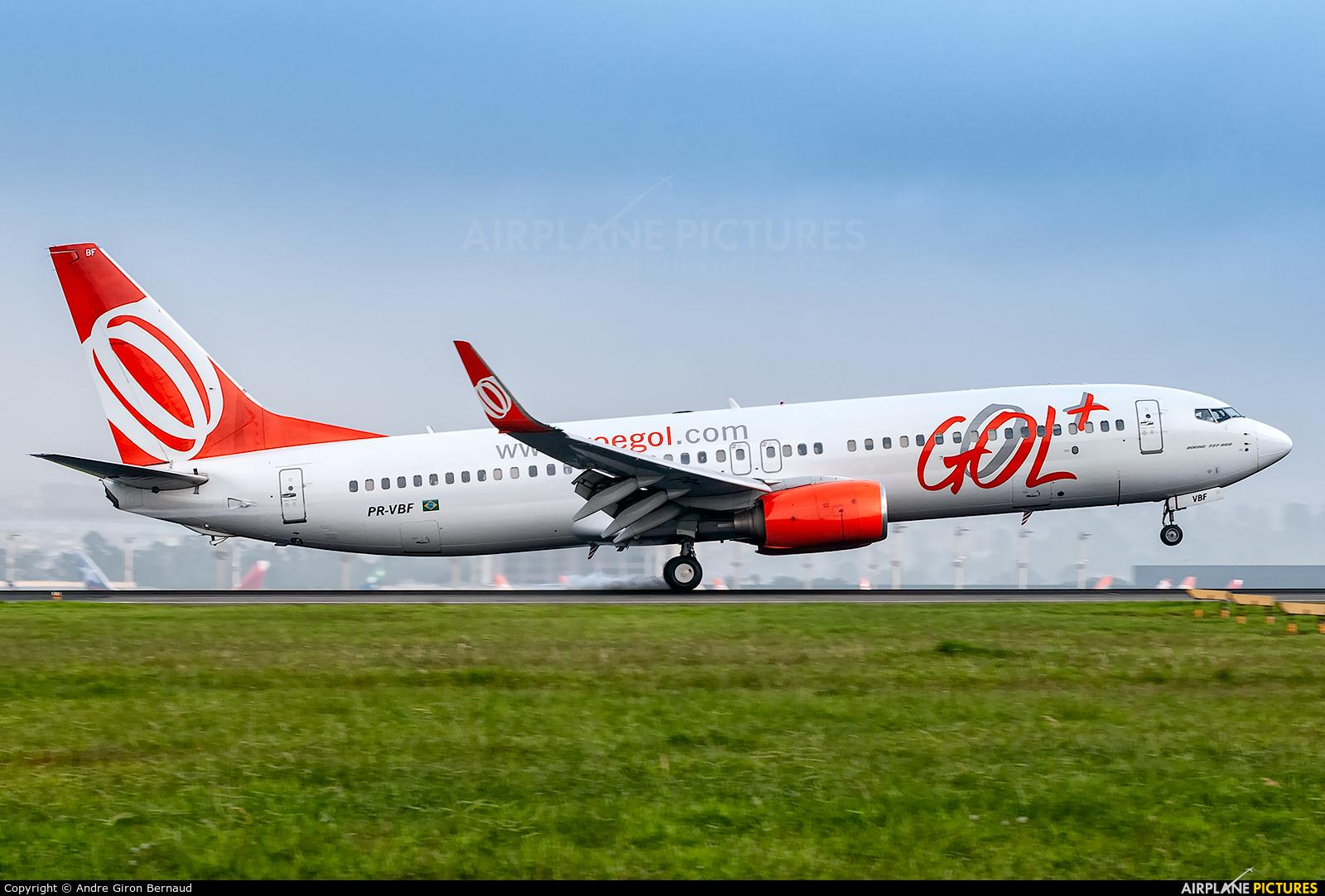 GOL Transportes Aéreos  PR-VBF aircraft at São Paulo - Guarulhos