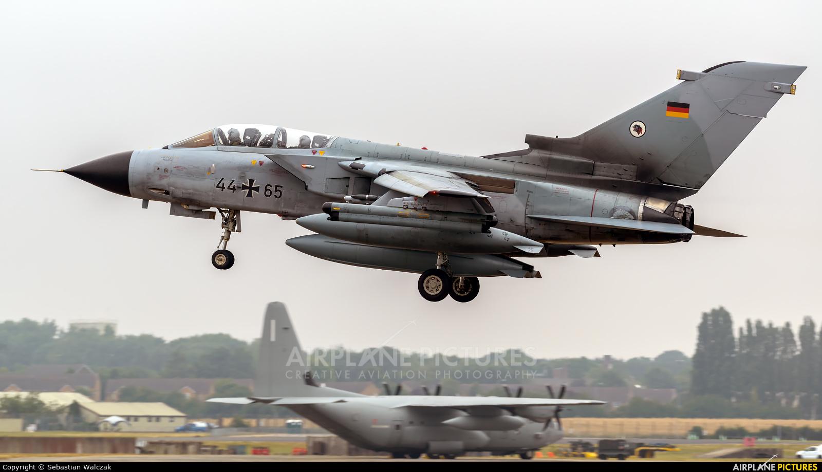 Germany - Air Force 44+65 aircraft at Fairford