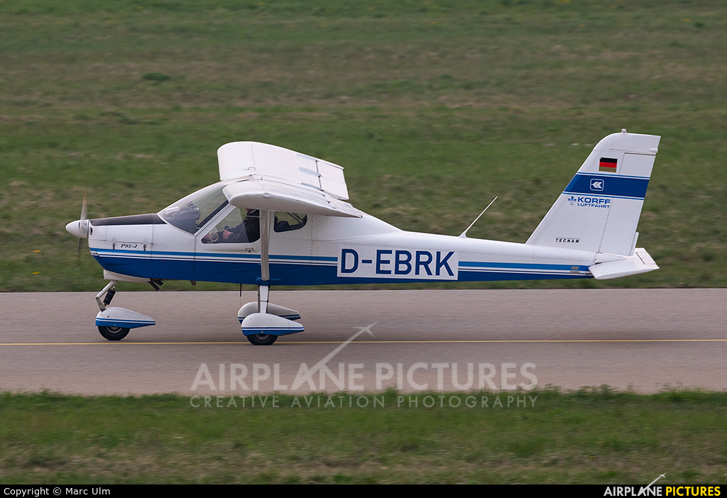 Private D-EBRK aircraft at Friedrichshafen