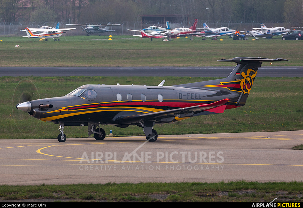 Private D-FEEL aircraft at Friedrichshafen