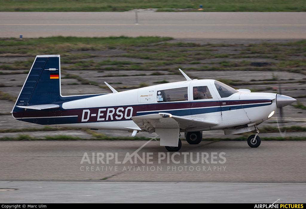 Private D-ERSO aircraft at Friedrichshafen