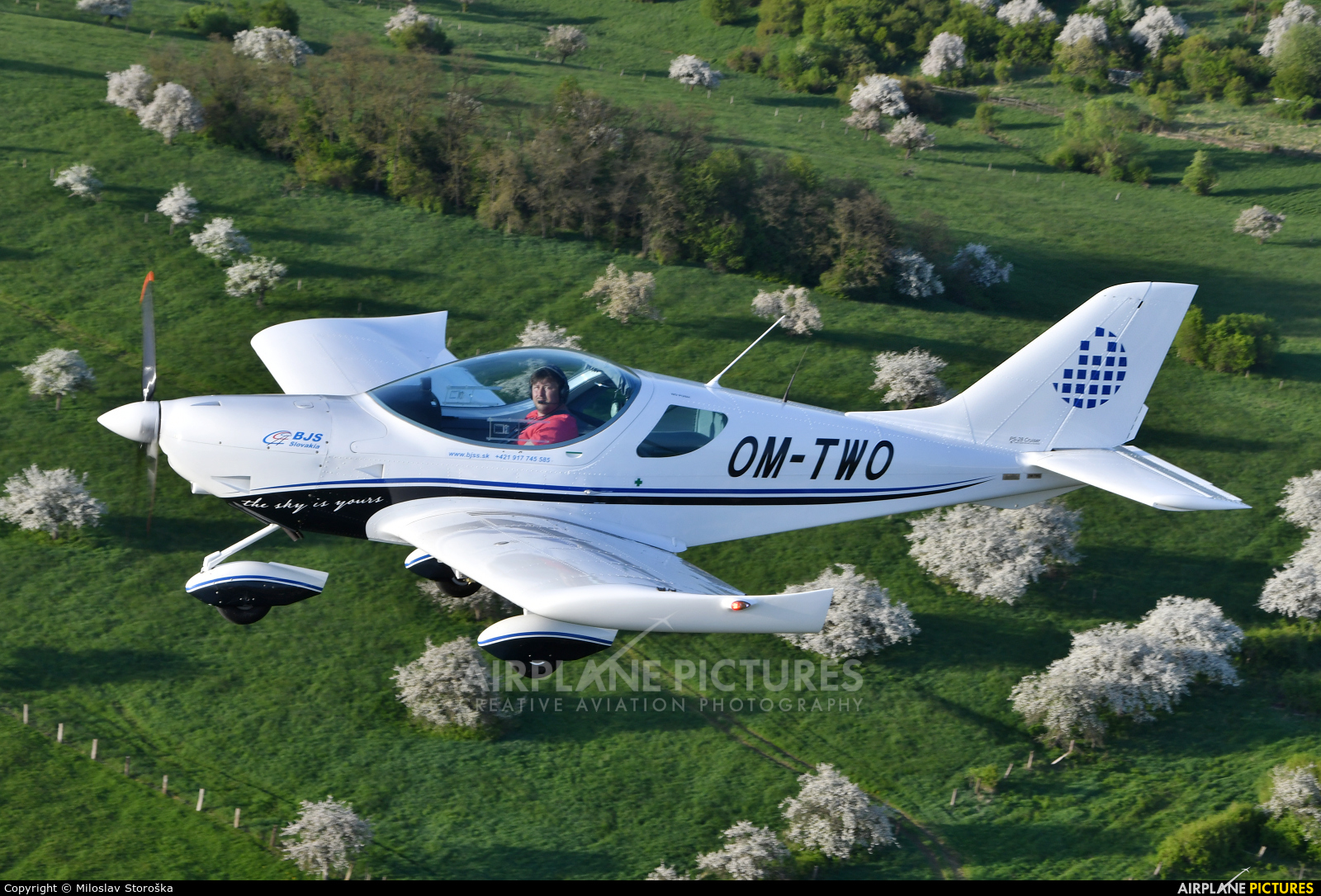Private OM-TWO aircraft at In Flight - Slovakia