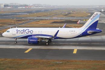 VT-IZK - IndiGo Airbus A320 NEO