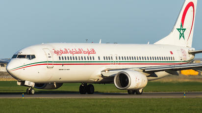 CN-ROZ - Royal Air Maroc Boeing 737-800