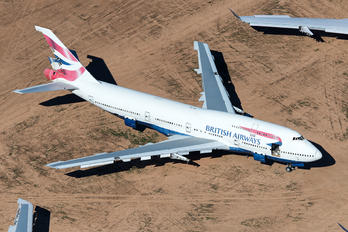 G-BNLD - British Airways Boeing 747-400