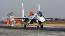 RF-91813 - Russia - Air Force Sukhoi Su-30SM aircraft