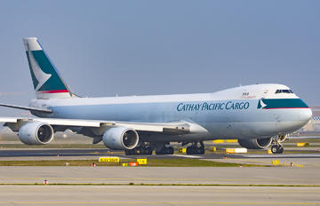 B-LJK - Cathay Pacific Cargo Boeing 747-8F