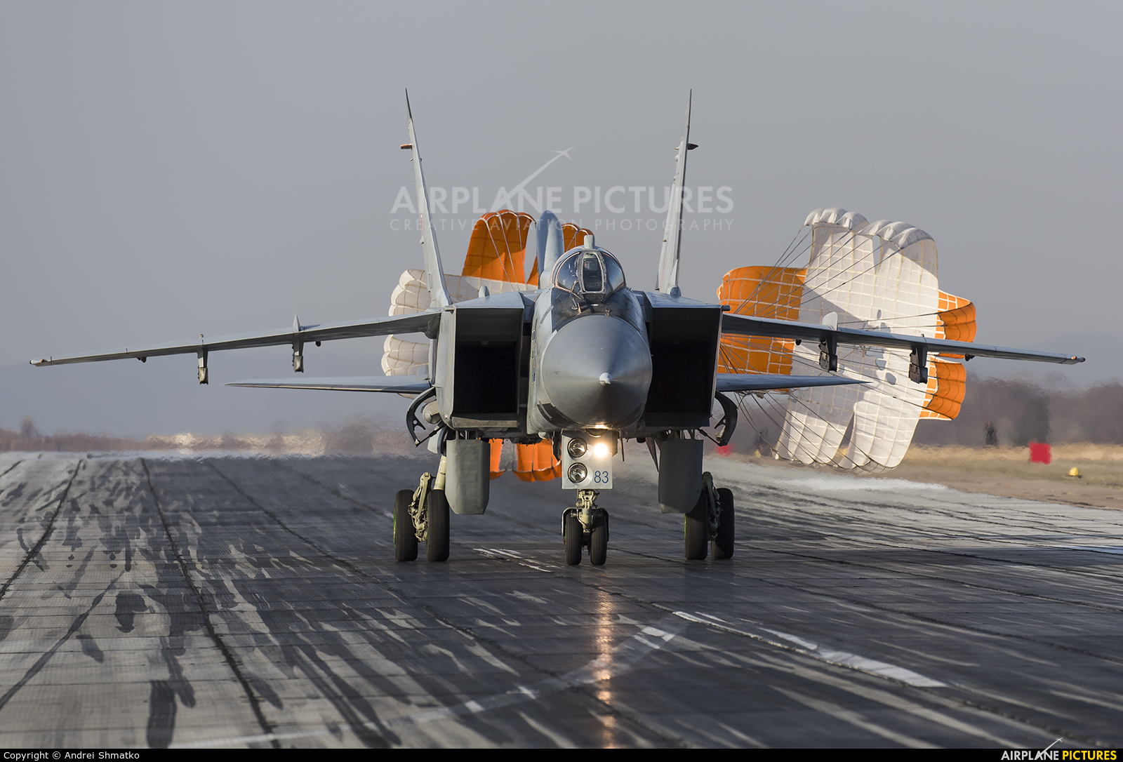 Russia - Air Force 83 aircraft at Undisclosed Location