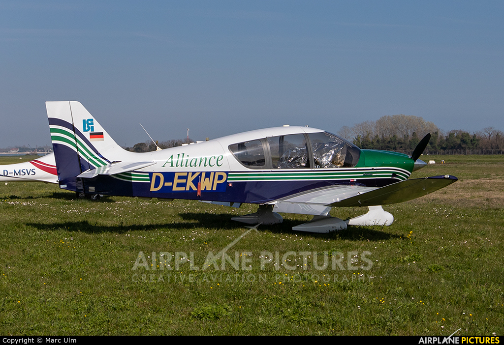 Private D-EKWP aircraft at Venice - Lido di Venezia