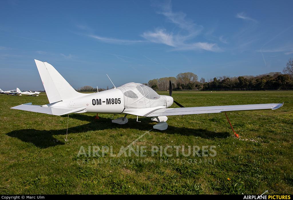 Private OM-M805 aircraft at Venice - Lido di Venezia