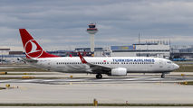 TC-JFM - Turkish Airlines Boeing 737-800 aircraft