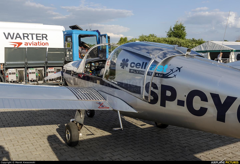 Private SP-CYC aircraft at Sobienie Królewskie
