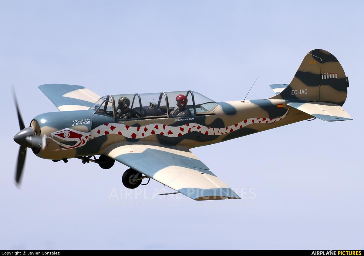 Laminar Air EC-IAO aircraft at Igualada - Odena
