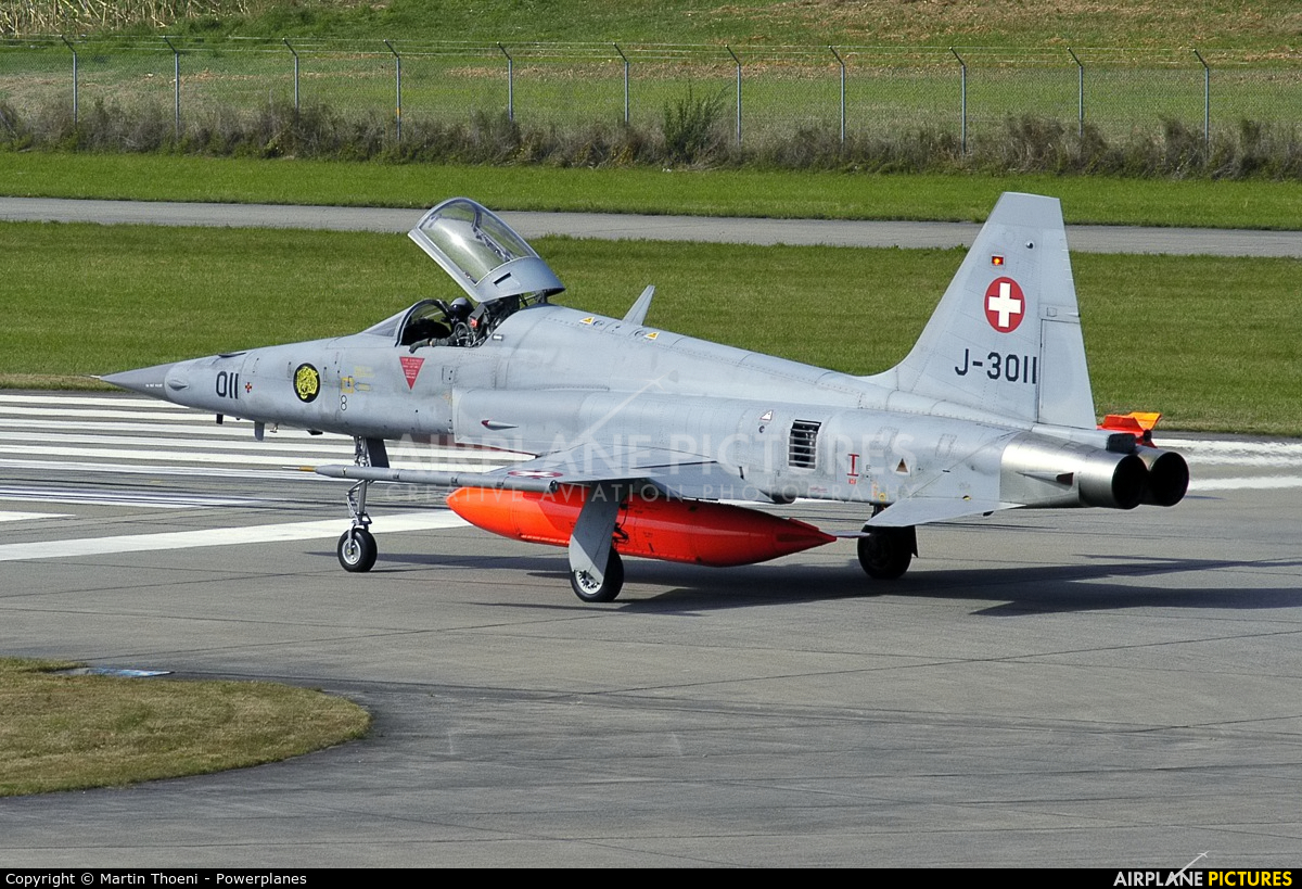 Switzerland - Air Force J-3011 aircraft at Dübendorf