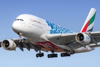 A6-EOT - Emirates Airlines Airbus A380