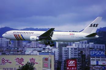 OY-KDM - SAS - Scandinavian Airlines Boeing 767-300ER