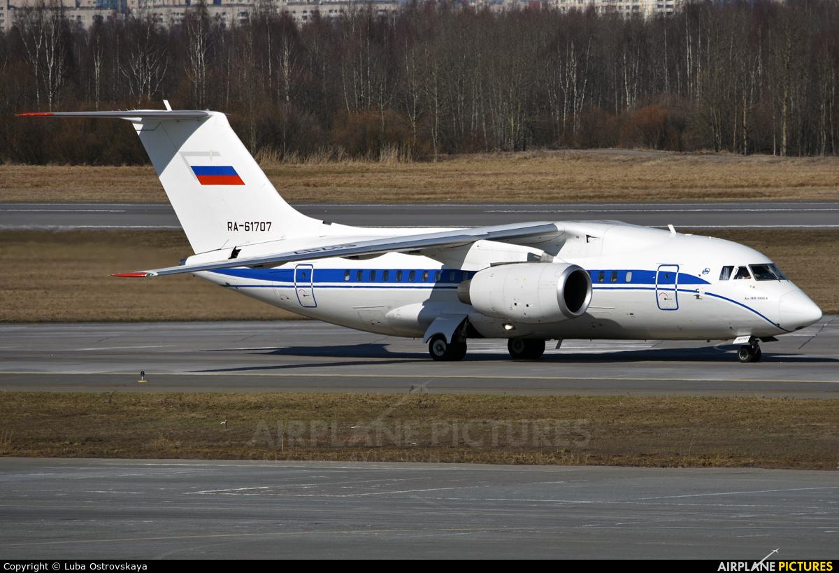 Russia - Government RA-61707 aircraft at St. Petersburg - Pulkovo