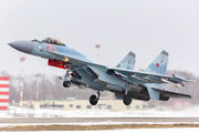 23 RED - Russia - Air Force Sukhoi Su-35S aircraft