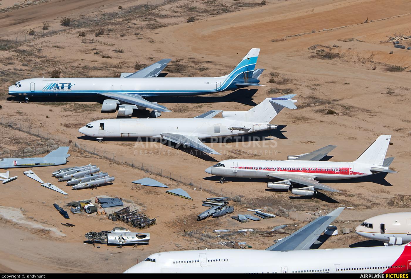 Untitled N815AJ aircraft at Mojave