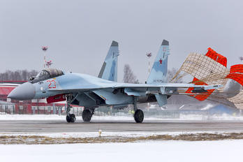 23 RED - Russia - Air Force Sukhoi Su-35S