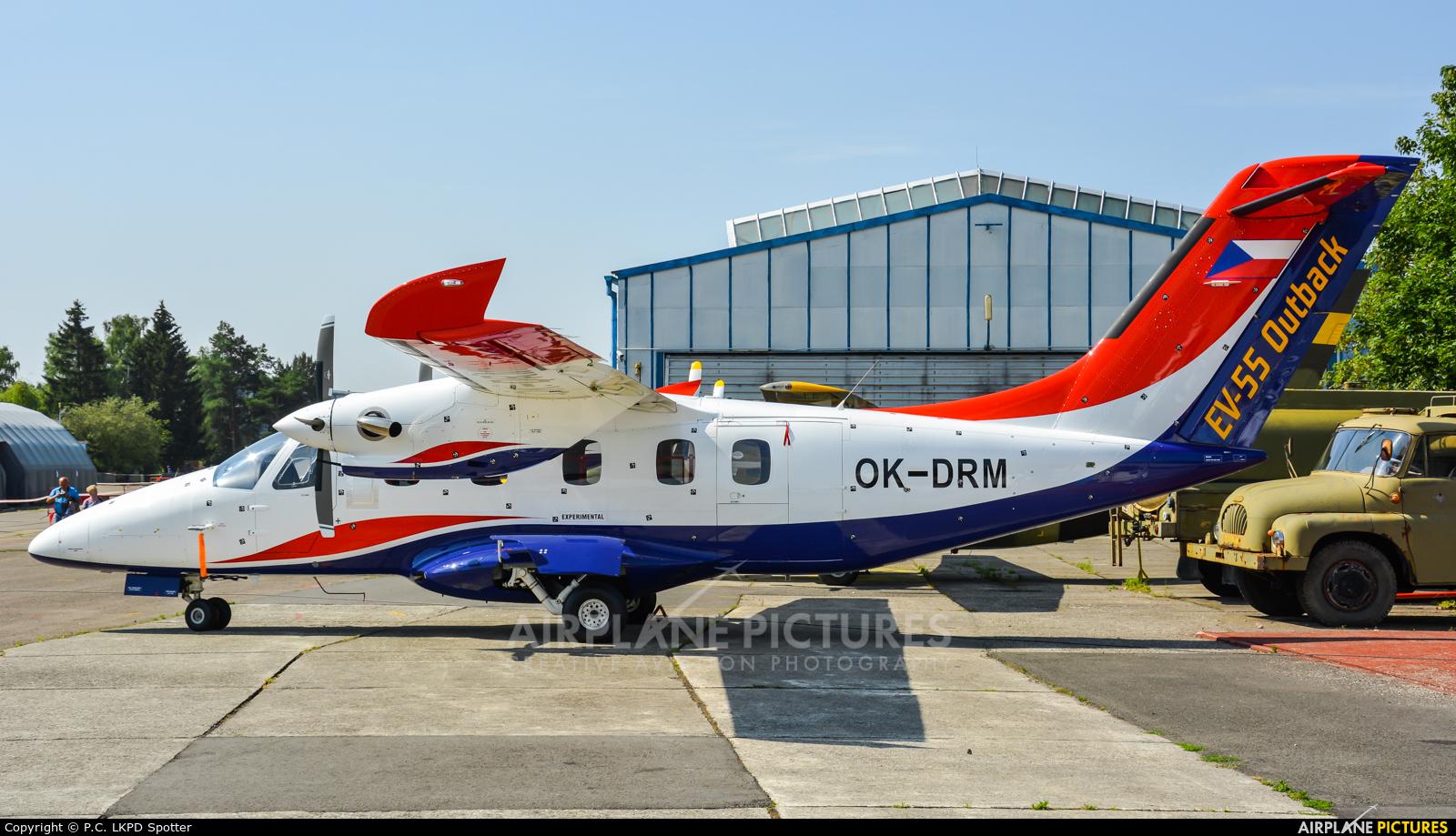 Evektor-Aerotechnik OK-DRM aircraft at Uherské Hradiště - Kunovice