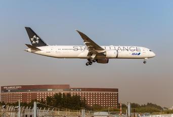 JA899A - ANA - All Nippon Airways Boeing 787-9 Dreamliner