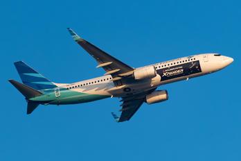 PK-GNU - Garuda Indonesia Boeing 737-800