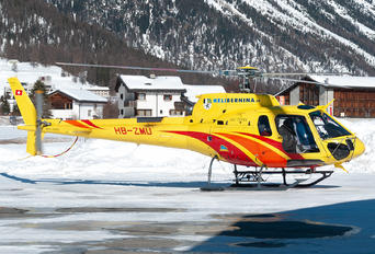 HB-ZMU - Heli Bernina Eurocopter AS350 Ecureuil / Squirrel