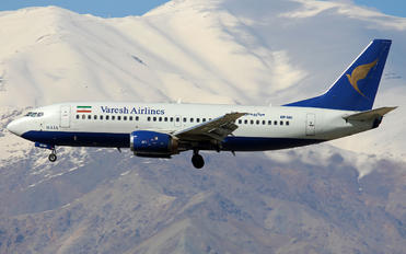 EP-VAI - Varesh Airlines Boeing 737-300