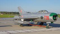 728 - Poland - Air Force Mikoyan-Gurevich MiG-19P aircraft