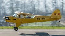 HB-ONG - Private Piper J3 Cub aircraft