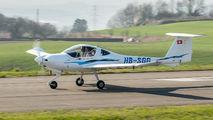 HB-SGG - Private Diamond DA 20 Eclipse aircraft