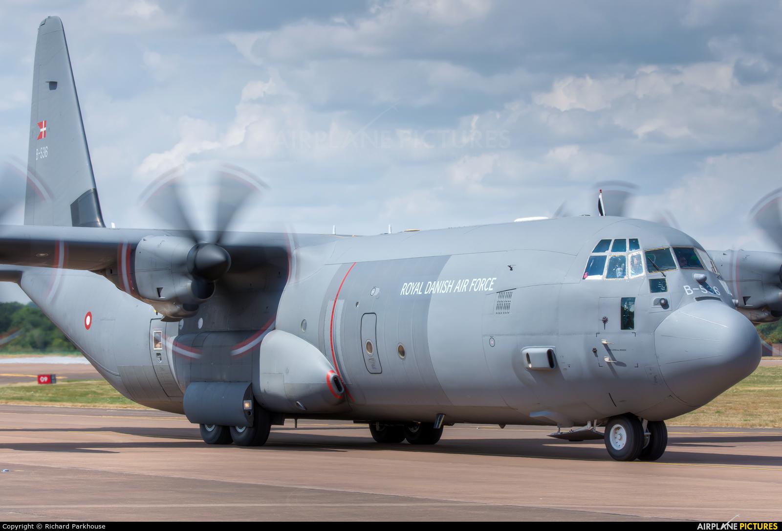 Denmark - Air Force B-536 aircraft at Fairford