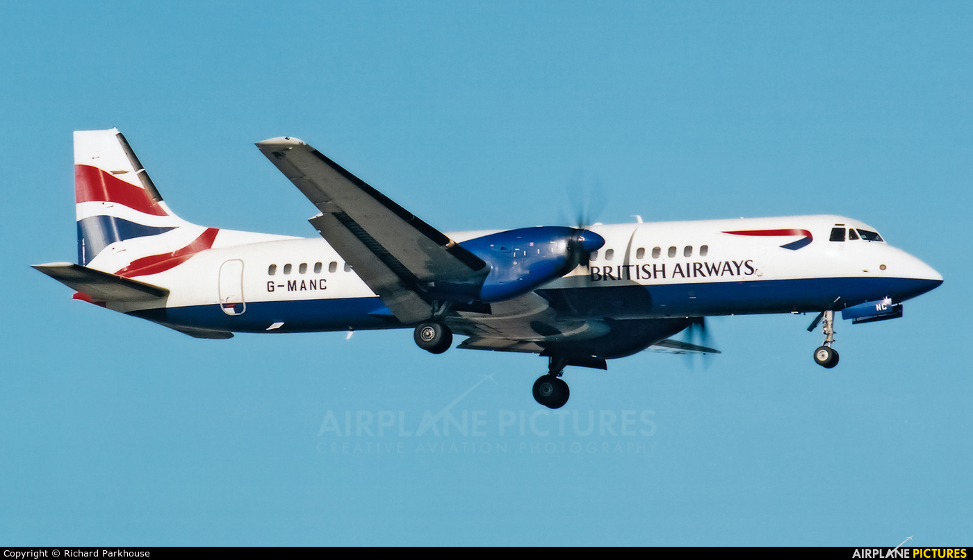 British Airways G-MANC aircraft at London - Gatwick
