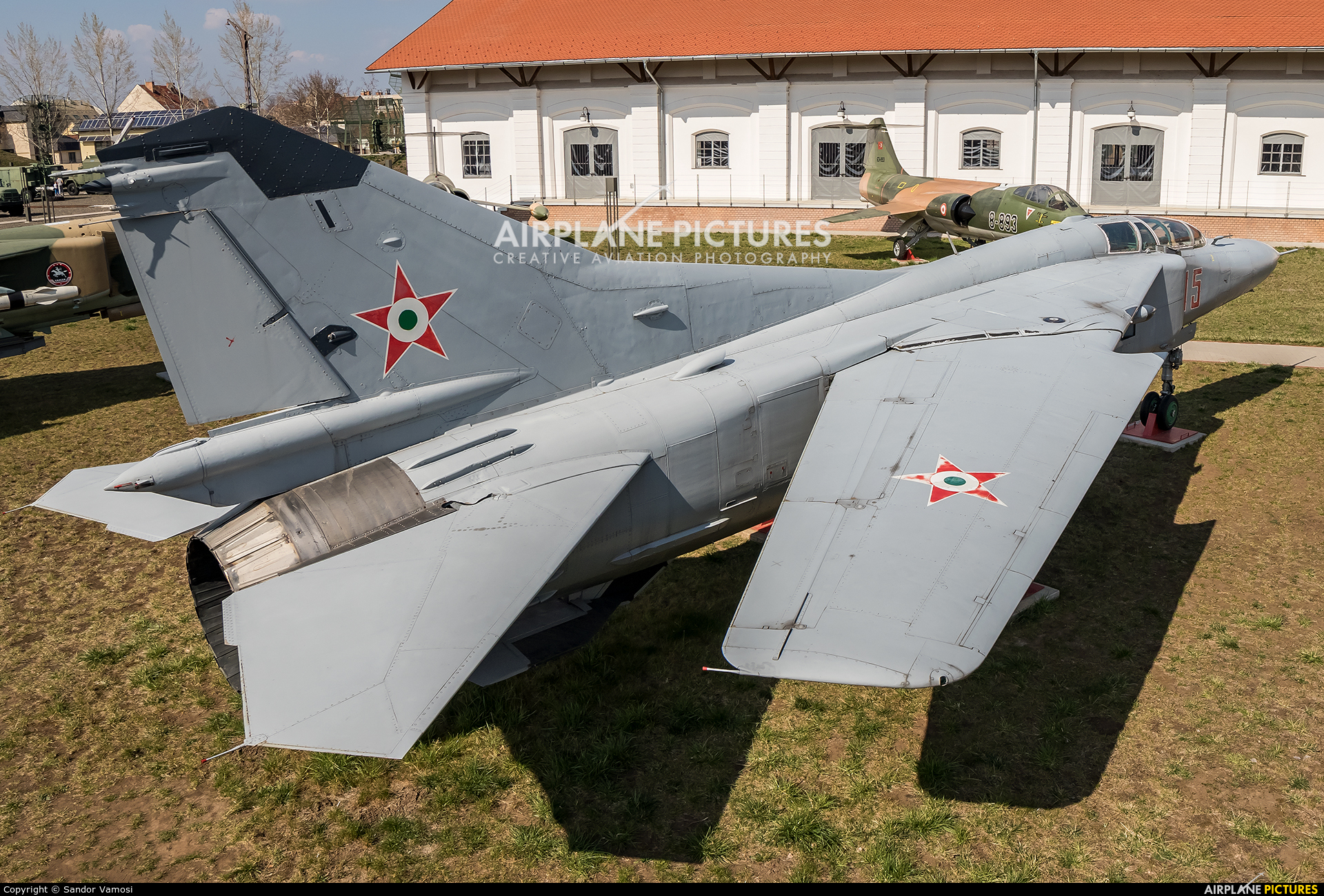 Hungary - Air Force 15 aircraft at Off Airport - Hungary