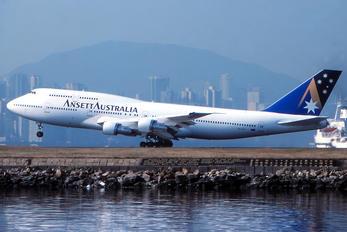 VH-INJ - Ansett Australia Boeing 747-300