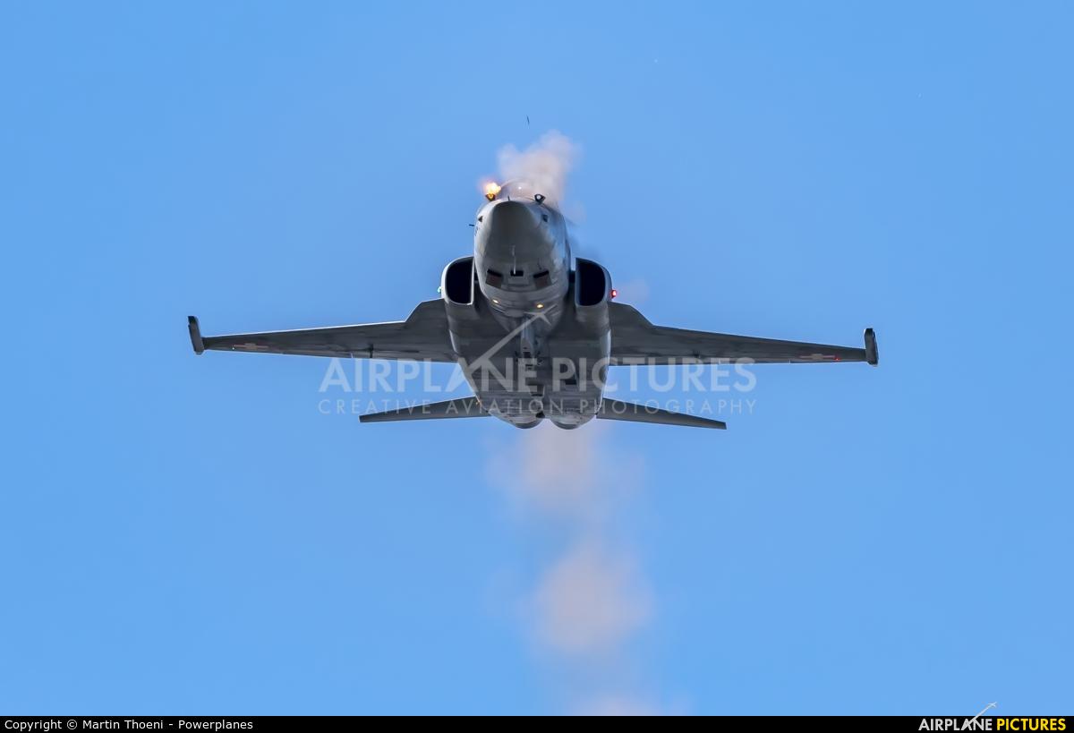 Switzerland - Air Force J-30** aircraft at Axalp - Ebenfluh Range