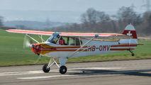 HB-OMV - Private Piper PA-18 Super Cub aircraft