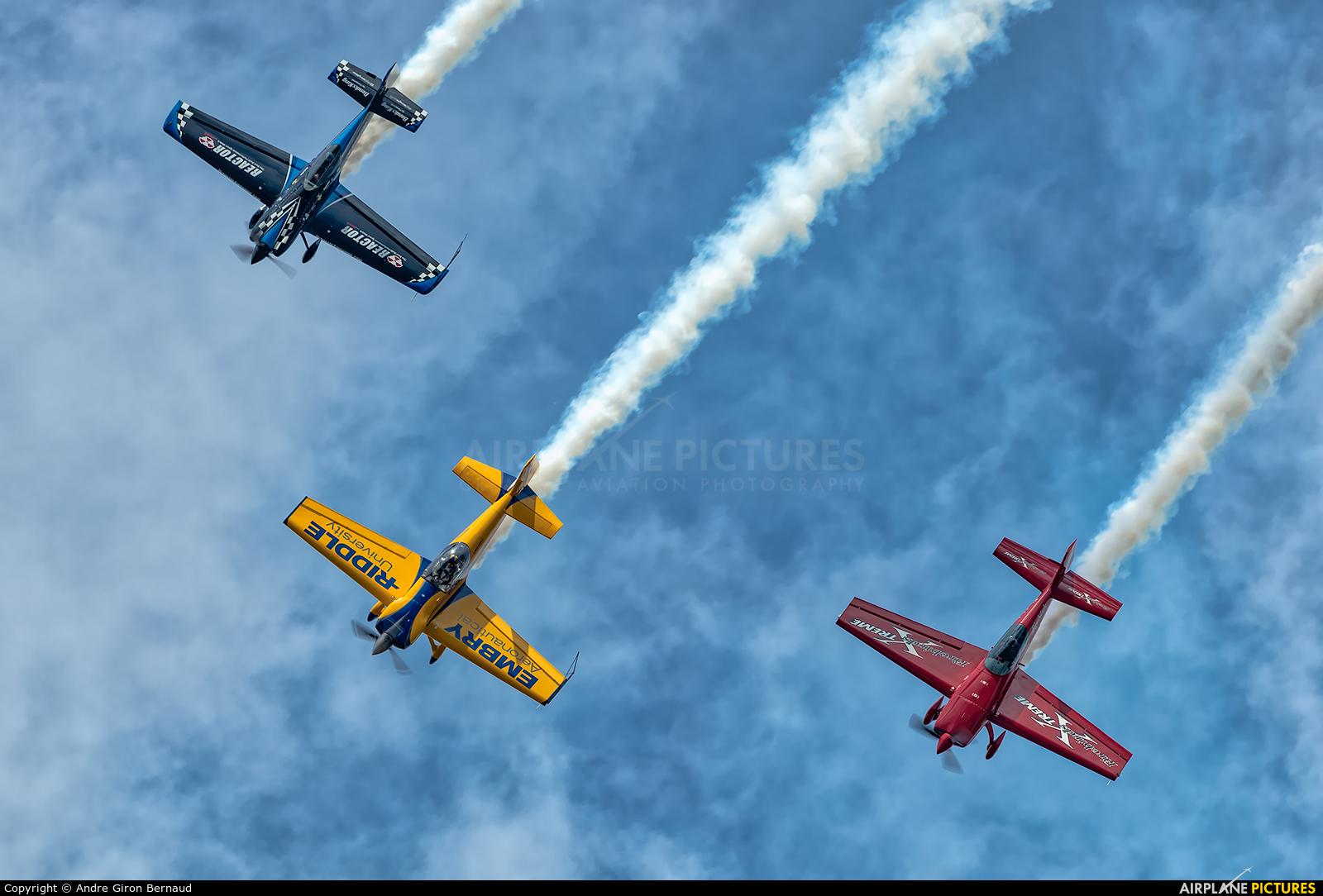 4CE Formation Aerobatic Team N330ER aircraft at Oshkosh - Wittman Regional