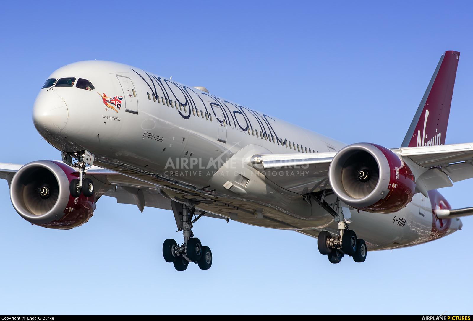 Virgin Atlantic G-VDIA aircraft at London - Heathrow