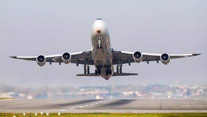 N605UP - UPS - United Parcel Service Boeing 747-8F