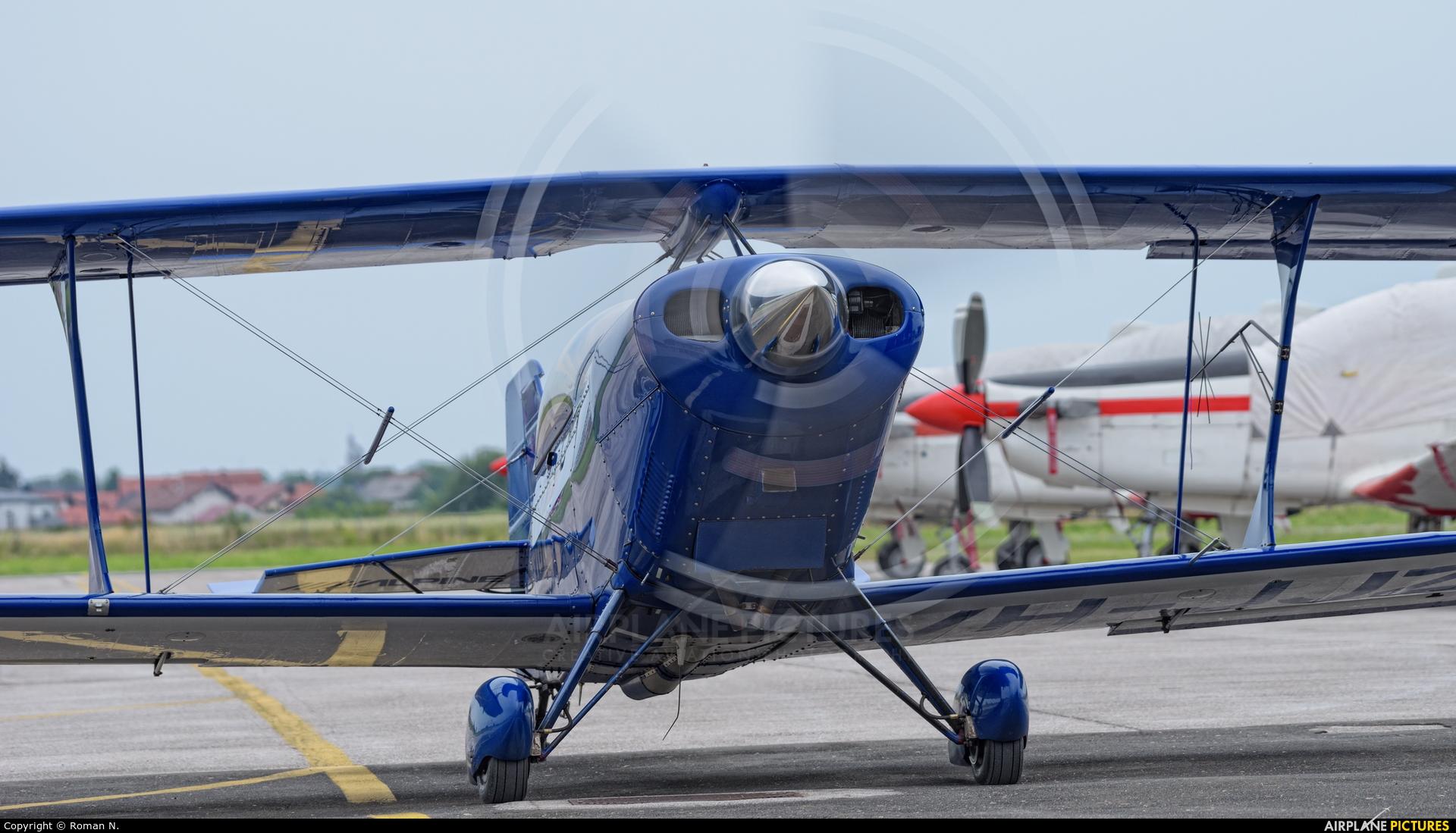 Private VH-JJZ aircraft at Varazdin