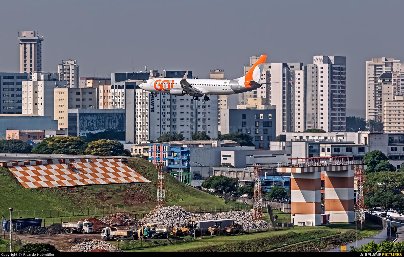 GOL Transportes Aéreos  PR-GGD aircraft at São Paulo - Congonhas