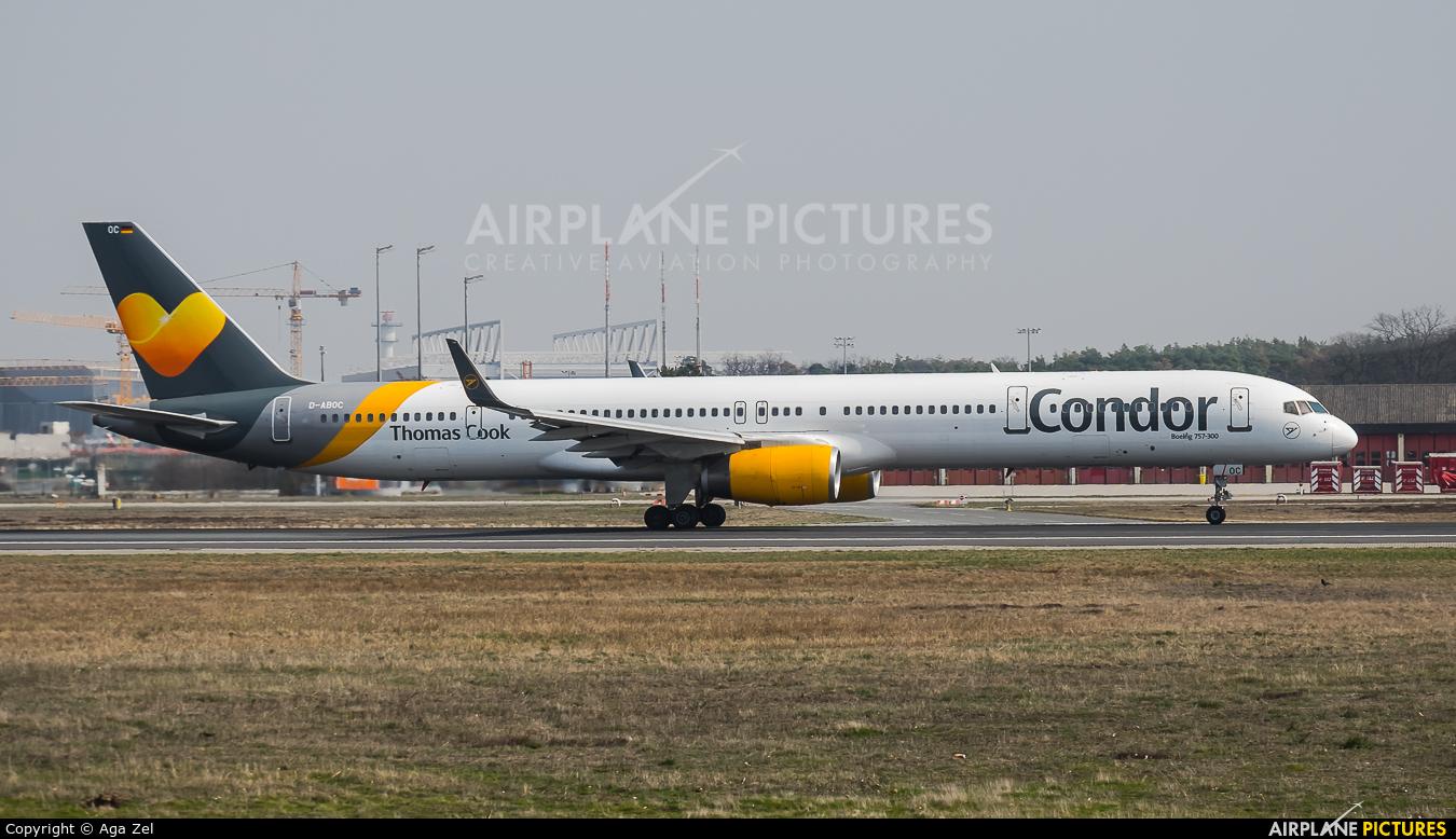 Condor D-ABOC aircraft at Frankfurt