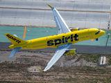 N645NK - Spirit Airlines Airbus A320 aircraft