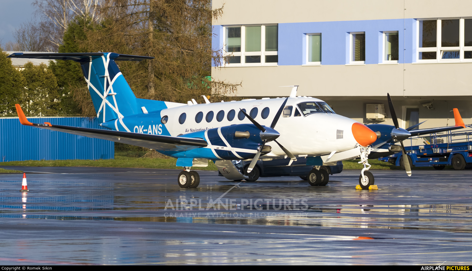 CAA - Czech Aviation Authority OK-ANS aircraft at Ostrava Mošnov
