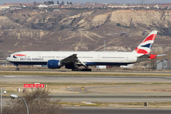G-STBD - British Airways Boeing 777-300ER