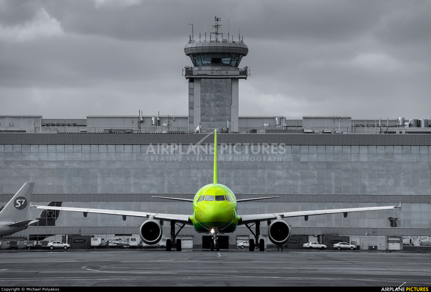 S7 Airlines VQ-BPN aircraft at Moscow - Domodedovo