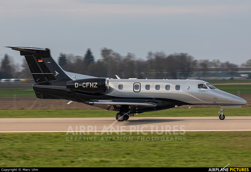 Private D-CFHZ aircraft at Augsburg